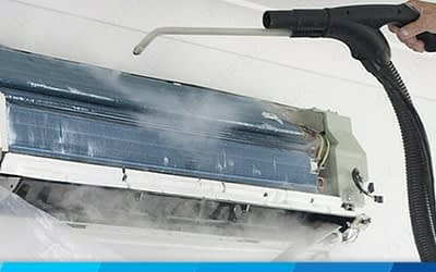 Can I use Steam Cleaner on Aircon?