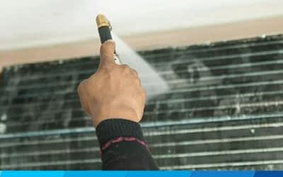 How much is the cost for a chemical clean of an aircon?