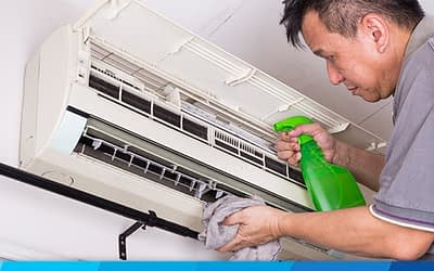 Is steam good for cleaning air conditioners?