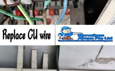Replace CU wire