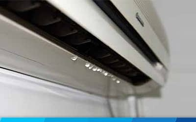 What does it mean when your Aircon leaks water?