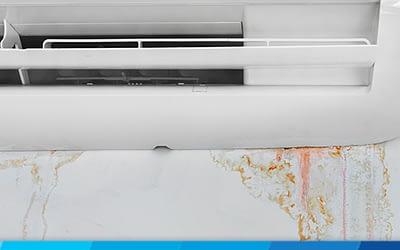 Is AC leaking water dangerous?