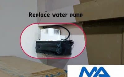 Replace water pump in Ubi Ave 1